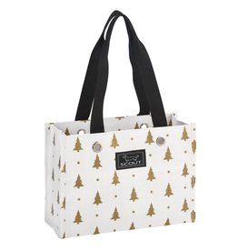 Scout Bags Tiny Package Gift Bag 13705 Pining Fir Gold