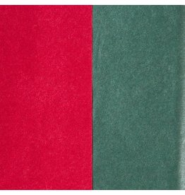 Papyrus Christmas Tissue Paper 8 Sheets Red Green Duo