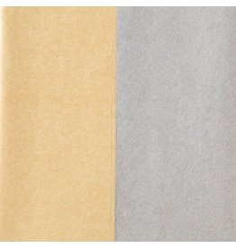 Papyrus Christmas Tissue Paper 8 Gold Silver Duo
