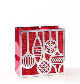 Papyrus Christmas Gift Bag Medium 8.5x8.5x4.5 Holiday Icon