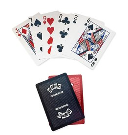 ESPN Poker Club Professional ESPN Poker Playing Cards Set Red Black