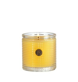 Aromatique Agave Pineapple Textured Glass Candle 5.5oz 81-137
