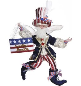 Mark Roberts Fairies Patriotic 51-85166 Patriotic Fairy Sm 11 inch