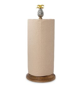 Mud Pie Pineapple Paper Towel Holder