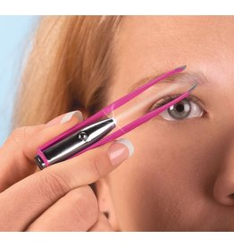 DM Merchandising Spot On Illuminating Tweezers