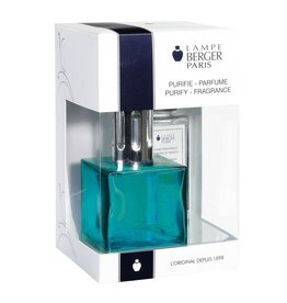 Lampe Berger Fragrance Lamp Cube Gift Box Set 113705 Turquoise