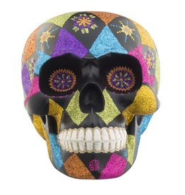 Christopher Radko Halloween Day of the Dead Skull