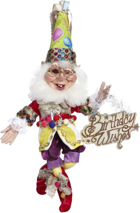 Mark Roberts Fairies Elves Happy Birthday Wishes Elf 51