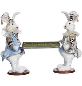 Mark Roberts Fairies Bunnies 2 Butler Bunny With Tray 20 inch