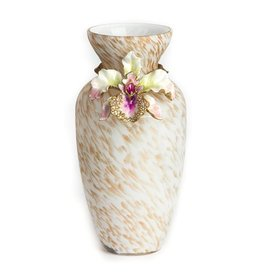 Jay Strongwater Decorative Vases Loretta Orchid Vase 8 inch Tall