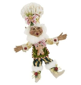 Mark Roberts Fairies Elves African American Black Gingerbread Spice Elf SM