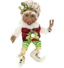 Mark Roberts Fairies Elves African American Black Golfing Elf SM 51-68247