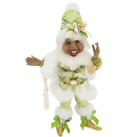 Mark Roberts Fairies Elves African American Black Dashing Thru The Snow SM