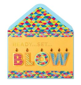 Papyrus Greetings Birthday Card Ready Set Blow