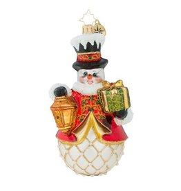 Christopher Radko Christmas Ornament Light The Way