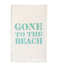 Mud Pie Beach House Hand Towel w Gone To The Beach