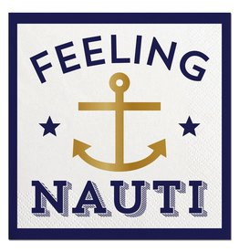 Slant Feeling Nauti Cocktail Beverage Napkins 20ct