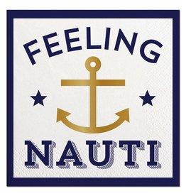 Slant Feeling Nauti Cocktail Beverage Napkins 20ct