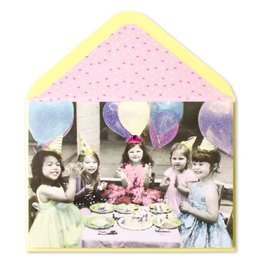 Papyrus Greetings Birthday Card Princess Party Girls