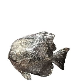 Mark Roberts Stylish Home Decor Silvered Sea Fish 7.5Hx10L inch