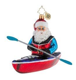 Christopher Radko Christmas Ornament A River Runs Through It