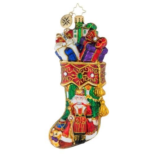christopher radko christmas ornament royal stocking stuffer
