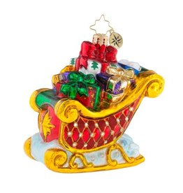 Christopher Radko Christmas Ornament Double Parked Presents