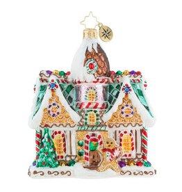 Christopher Radko Christmas Ornament Sweet Invitation