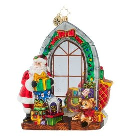 Christopher Radko Christmas Ornament Jolly Inside and Out