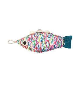FishBellies™ Fish Shaped Microwavable Corn Bags GUPPY - Confetti