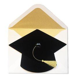 Papyrus Greetings Graduation Card Die Cut Grad Cap w Tassel