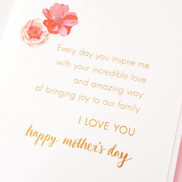 Papyrus greetings mothers day card for wife beautiful and inspiring papyrus greetings mothers day card for wife beautiful and inspiring m4hsunfo