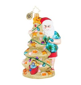 Christopher Radko Christmas Ornament Christmas in the Sand