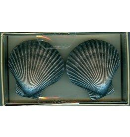 SPI Scallop Shell Drawer Knob - Knob Pulls - Set of 2