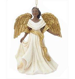 Kurt Adler African American Black Angel Ornament -C