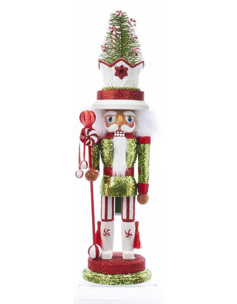 Kurt Adler Hollywood Christmas Nutcracker 18 Inch w Candy Tree Hat ...