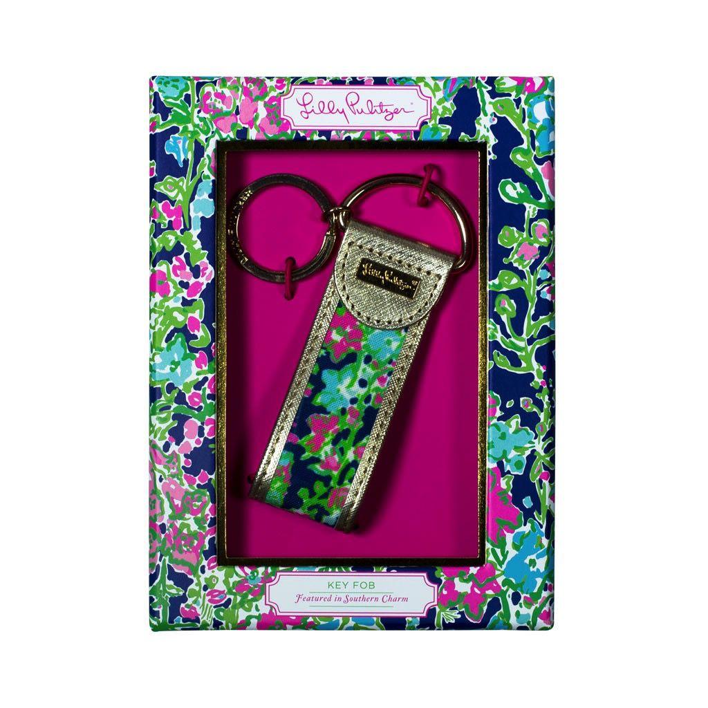 Lilly Pulitzer® Key Fob Key Ring Southern Charm