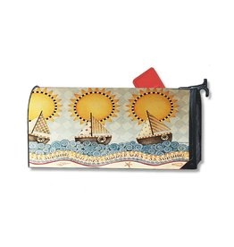 MailWraps Magnetic Mailbox Covers - Sail Away by Debbie Mumm