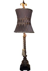 Mark Roberts Stylish Home Decor Woven Table Buffet Lamp 38.5T inches