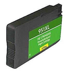 Digs 951XL HE-CN048AN 31ML Remanufactured Ink Jet Cartridge - Yellow
