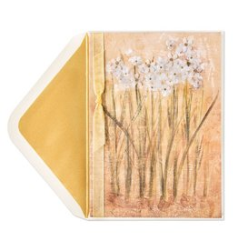 Papyrus Greetings Sympathy Card Watercolor Paperwhites