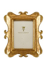 Twos Company Brocante Gold Leaf Frames 5x7 in