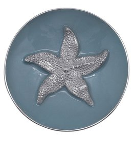 Mariposa Bowl 3445 Sea Blue Starfish Relief Bowl