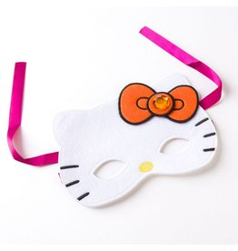 Papyrus Greetings Halloween Card Hello Kitty Wearable Mask w Card