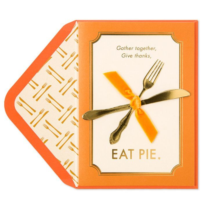 Papyrus greetings thanksgiving card gather together give thanks eat papyrus greetings thanksgiving card gather together give thanks eat pie m4hsunfo