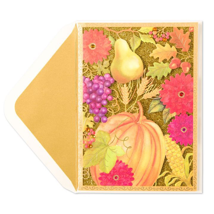 papyrus greetings thanksgiving card thanksgiving bounty digs n gifts