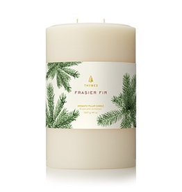 Thymes Frasier Fir Multi Wick Pillar Candle 4x6 inch
