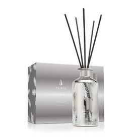 Thymes Frasier Fir Statement Reed Diffuser 7.75oz Silver