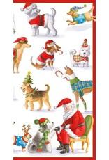 Caspari Christmas Money Cards Pack of 4 Waiting for Santa