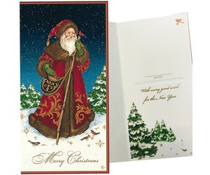 caspari single christmas gift card money holder father christmas santa digs n gifts - Christmas Card Money Holder
